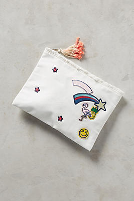 Slide View: 1: Playful Patches Pouch