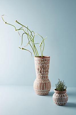 Slide View: 1: Rana Terracotta Vase
