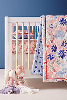 Slide View: 1: Dreamtime Elephants Toddler Quilt & Playmat