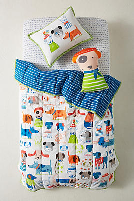 Slide View: 4: Carolyn Gavin Canine Collective Kids Quilt