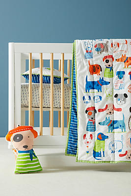 Slide View: 1: Canine Collective Toddler Quilt & Playmat