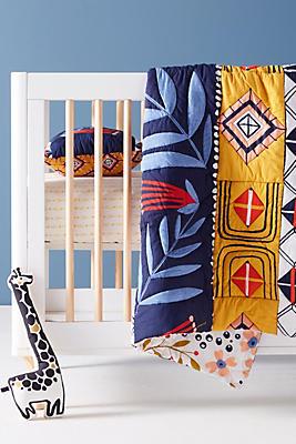 Slide View: 1: Geo Vine Toddler Quilt & Playmat