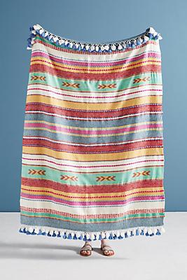 Slide View: 1: Woven Jemma Throw Blanket