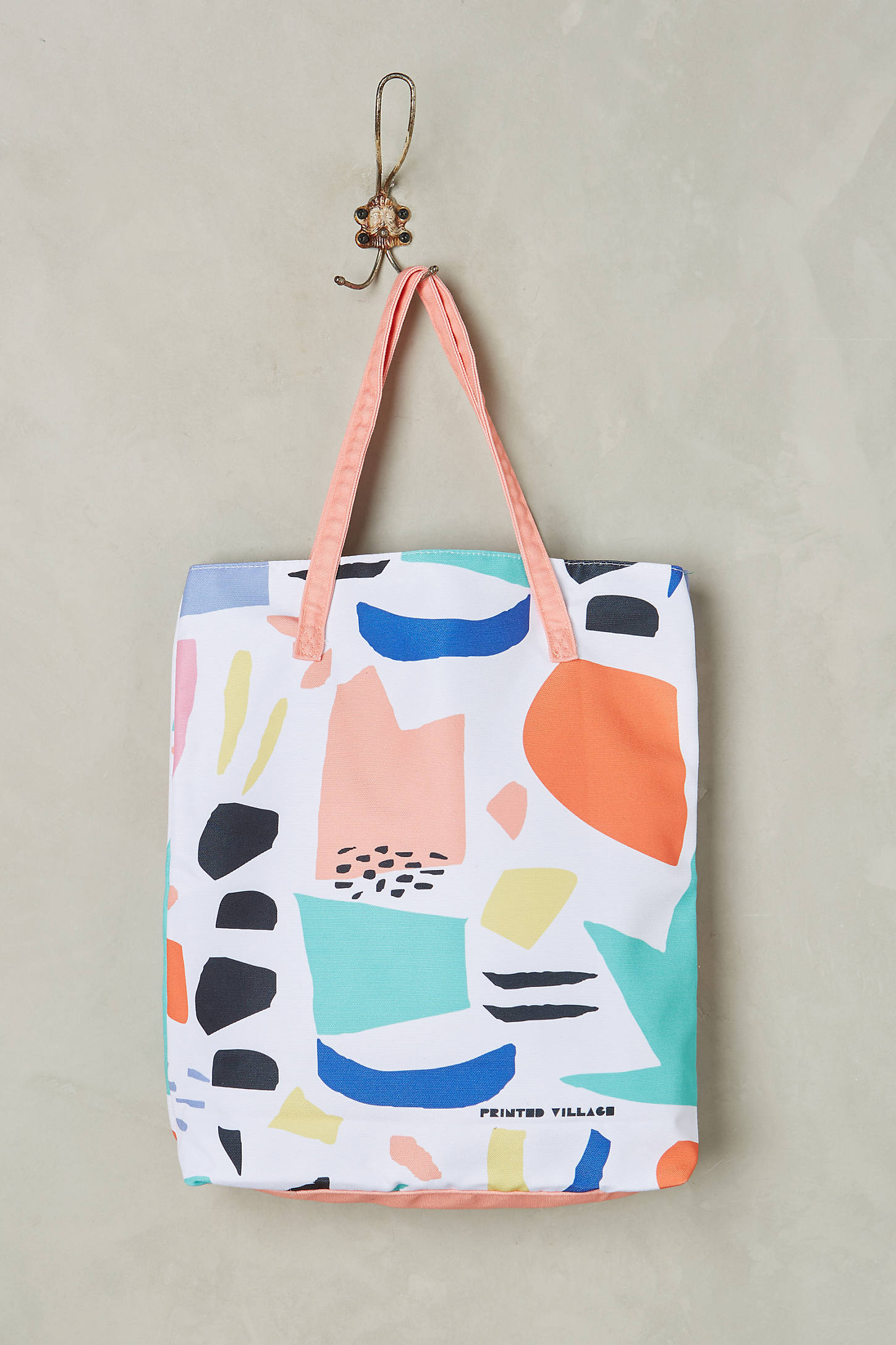 Color Collage Tote Bag
