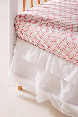 Slide View: 1: Ruffled Crib Skirt