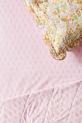 Slide View: 1: Pleasing Poppies Crib Sheet