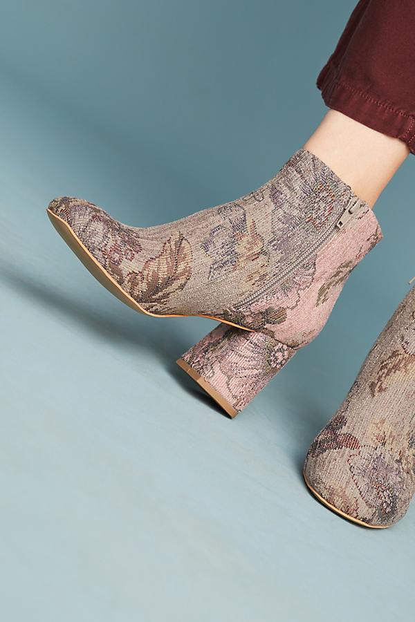 Amador Brocade Boots - Novelty, Size 6 0600