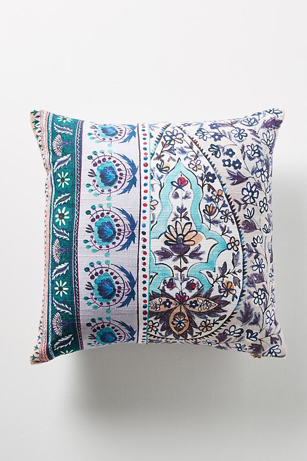Meze Pillow - Blue Motif
