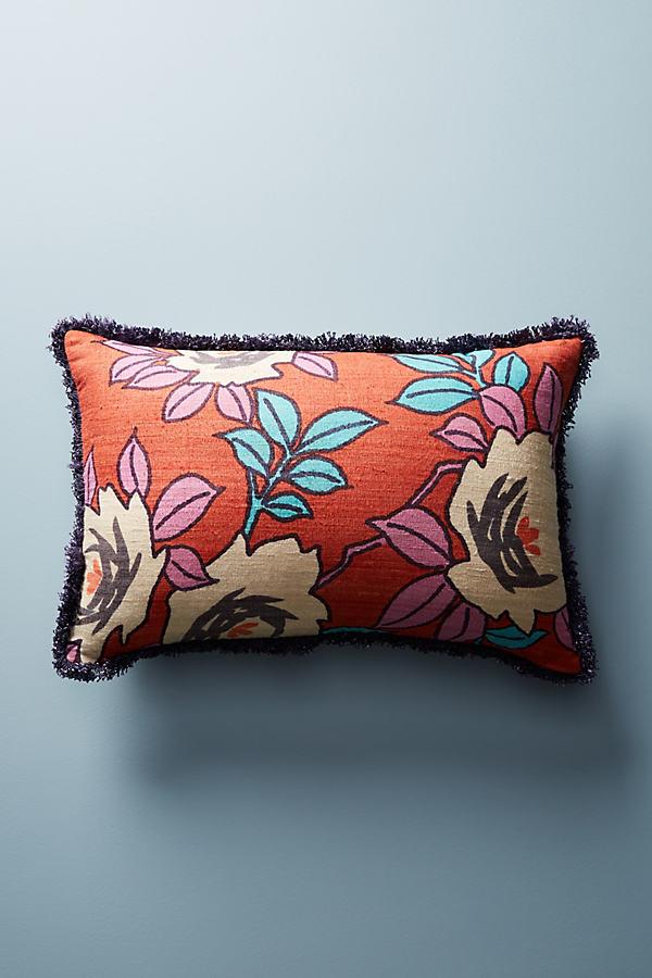 Sunworth Silk Pillow, Orange - Orange