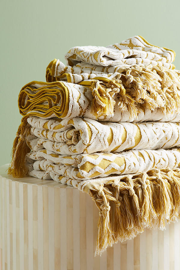 Marcela Towel Collection - Maize, Size Hand Towel