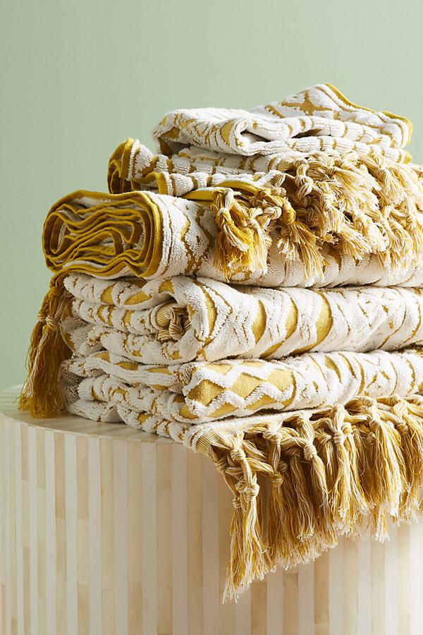 Marcela Towel Collection - Maize, Size Bath Towel