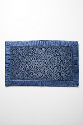 Slide View: 1: Damask Bath Mat