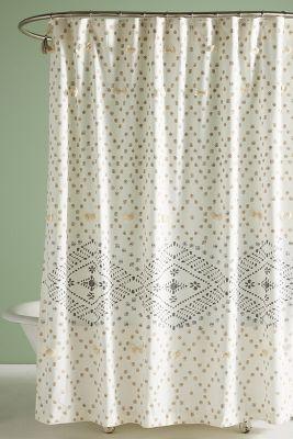 Liron Tufted Shower Curtain
