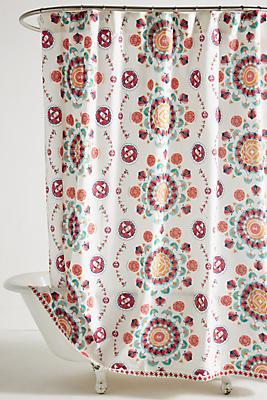 Slide View: 1: Merida Shower Curtain