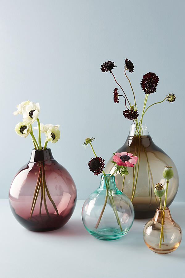 Slide View: 3: Translucent Bubble Vase