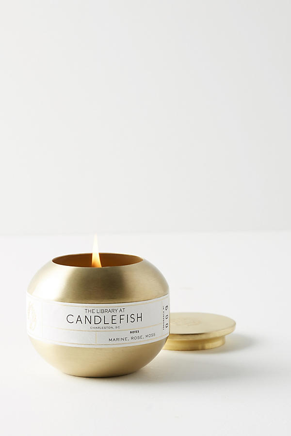 Slide View: 1: Candlefish Candle Tin