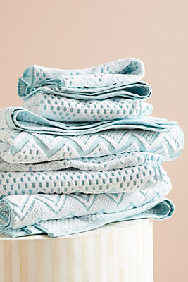 Slide View: 1: Chevron Towel Collection