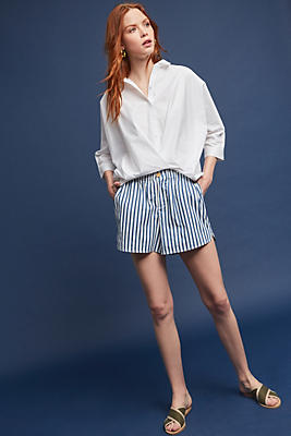 Slide View: 4: Blair Striped Shorts