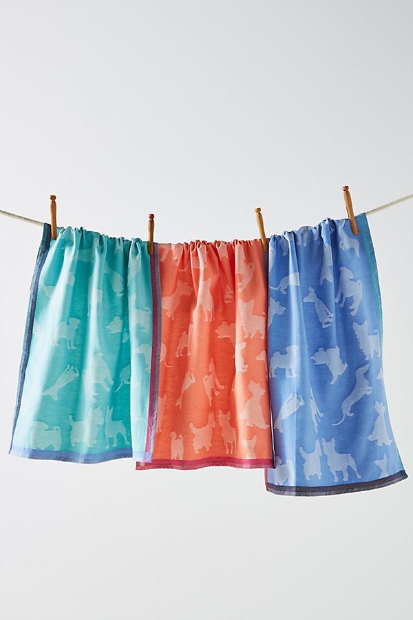 Parker Tea Towel Set - Assorted, Size Set Of 3