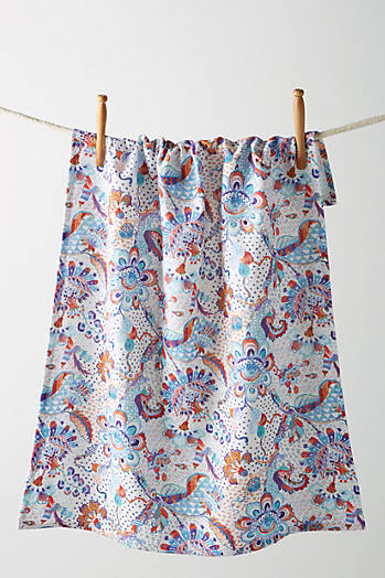 Slide View: 1: Liberty for Anthropologie Grand Bazaar Dish Towel