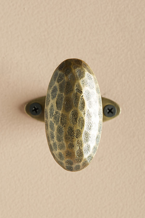 Hammered Serina Hook - Bronze