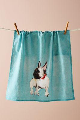 Dog A Day Dish Towel