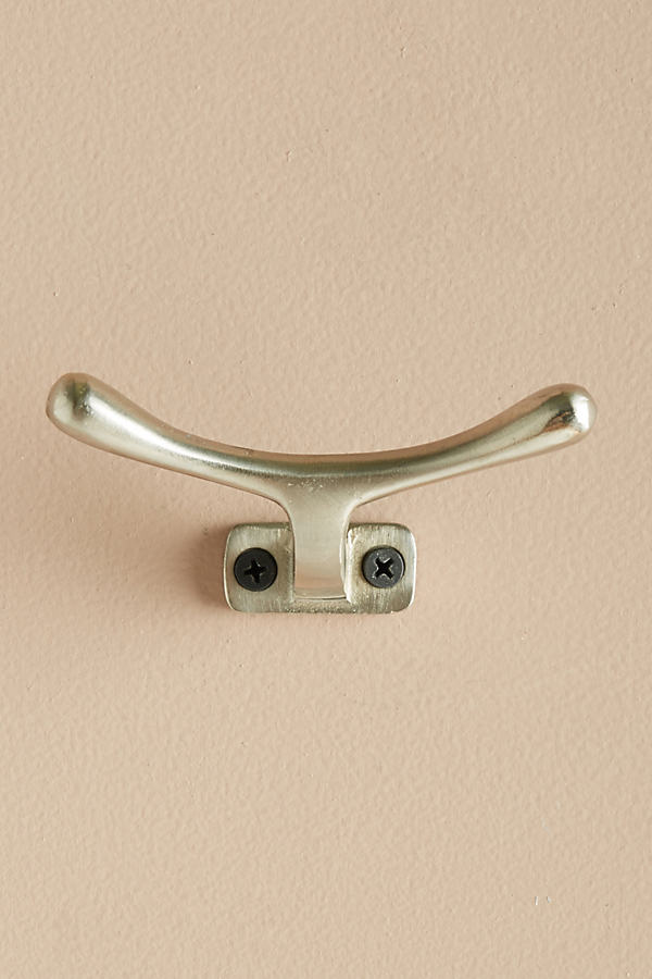 Rounded Streamline Hook - Silver