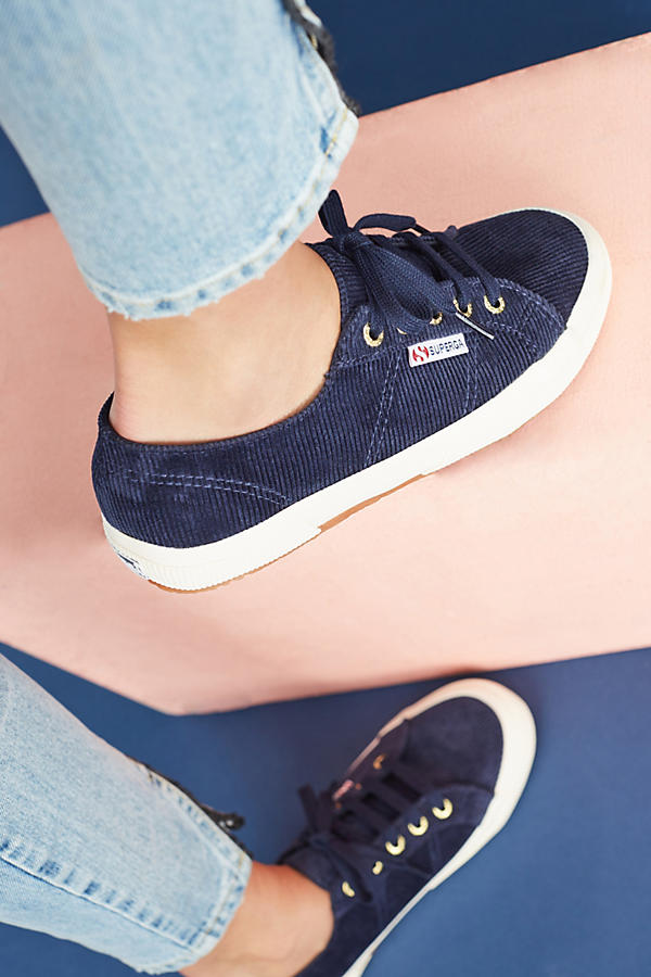 Slide View: 2: Superga Corduroy Sneakers