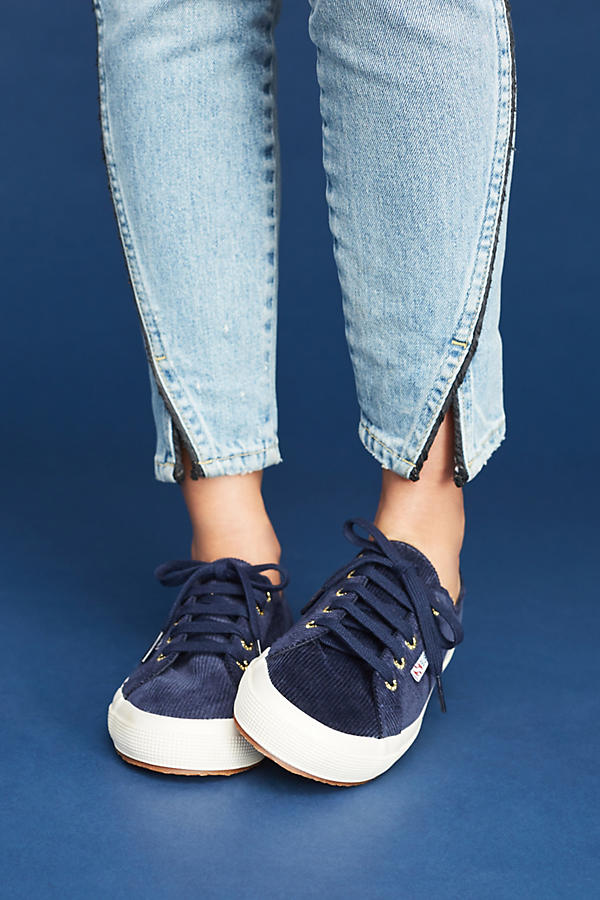 Slide View: 3: Superga Corduroy Sneakers