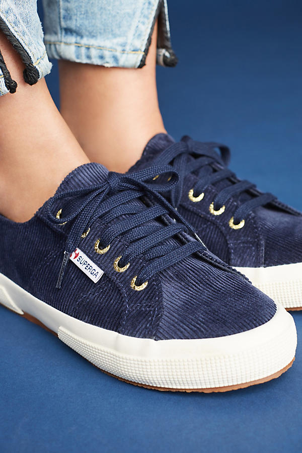 Slide View: 5: Superga Corduroy Sneakers