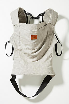 Slide View: 1: Linen Baby Carrier