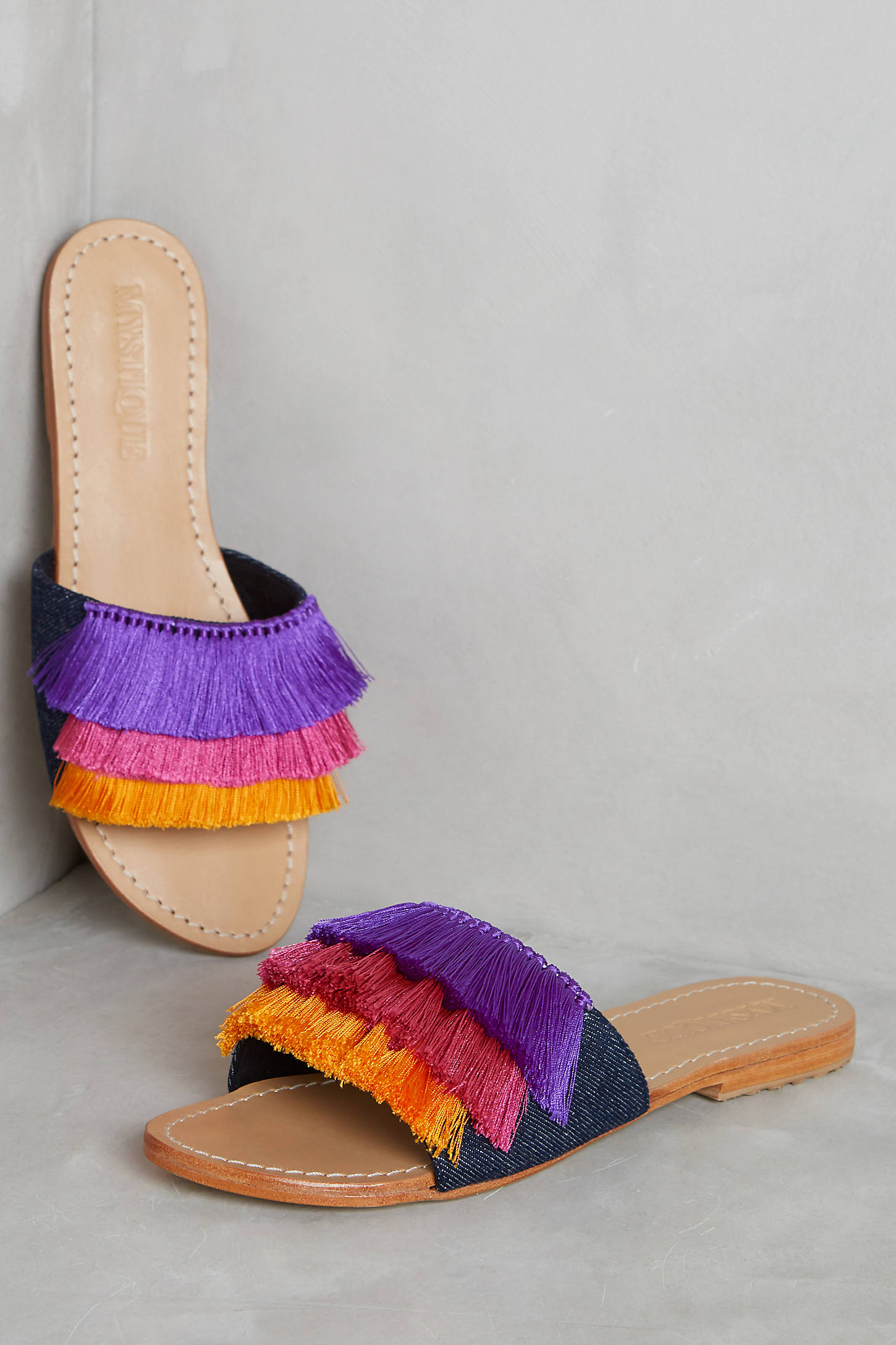 Mystique Saturated Slide Sandals