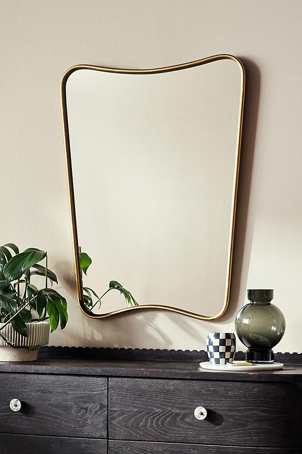 Modernist Mirror - Bronze