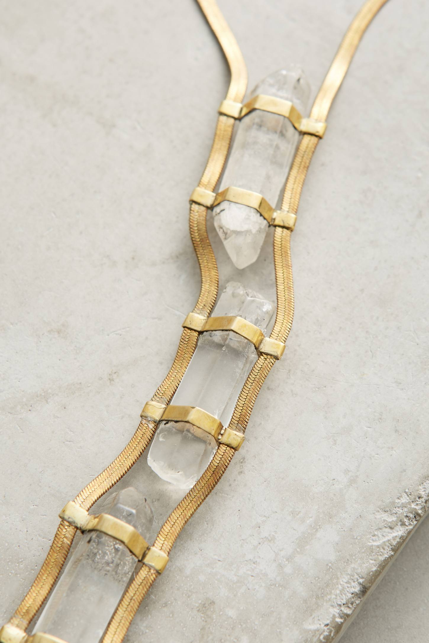 Slide View: 2: Roxana Ladder Necklace