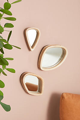 Slide View: 1: Bentwood Mirror