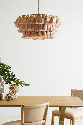 Feather Lamp Shade Diy Pendant Lights