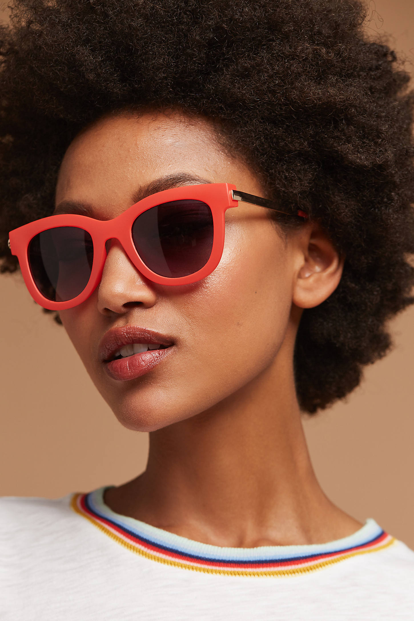 Poppy Matte Sunglasses