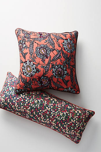 Coussin en soie Liberty for Anthropologie