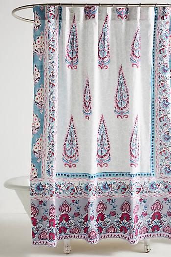 Shop Unique & Boho Shower Curtains   Anthropologie