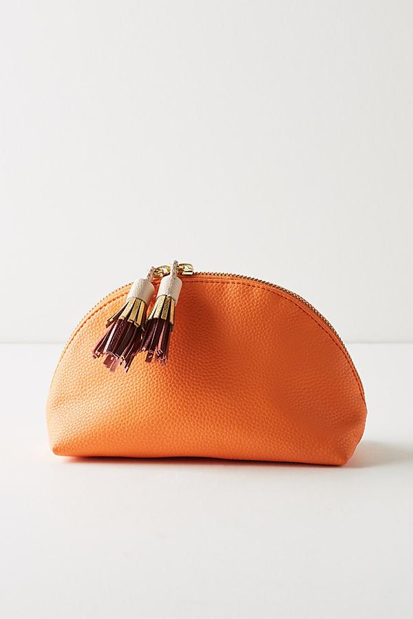 Wynne Dome Pouch - Orange