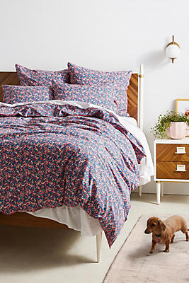 Slide View: 1: Liberty for Anthropologie Wiltshire Berry Duvet