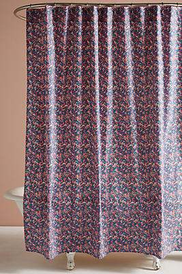 Slide View: 1: Liberty for Anthropologie Wiltshire Berry Shower Curtain
