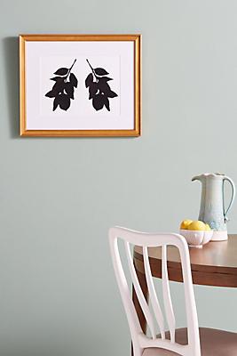 Anthropologie Wall Art lemon branches wall art | anthropologie