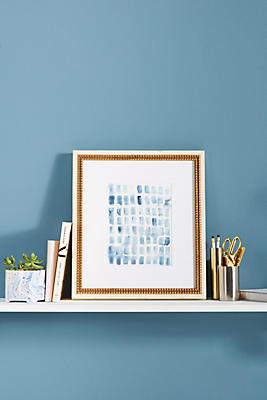 Slide View: 1: Blue Wash Blocks Wall Art