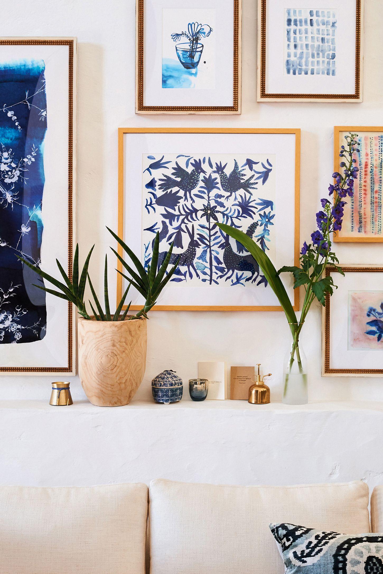 Otomi Blue Wall Art Anthropologie