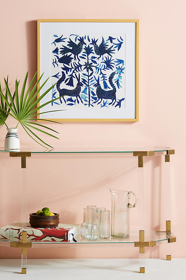 Slide View: 3: Otomi Blue Wall Art
