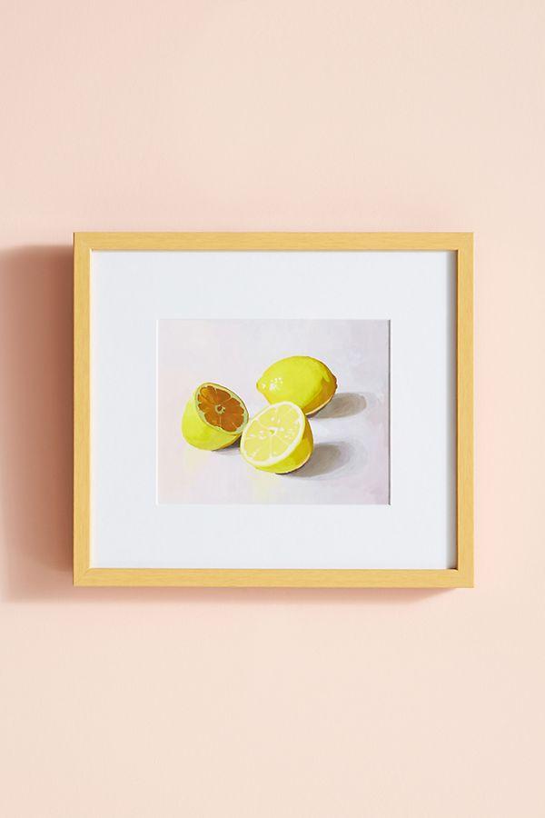 Lemons 1 Wall Art | Anthropologie