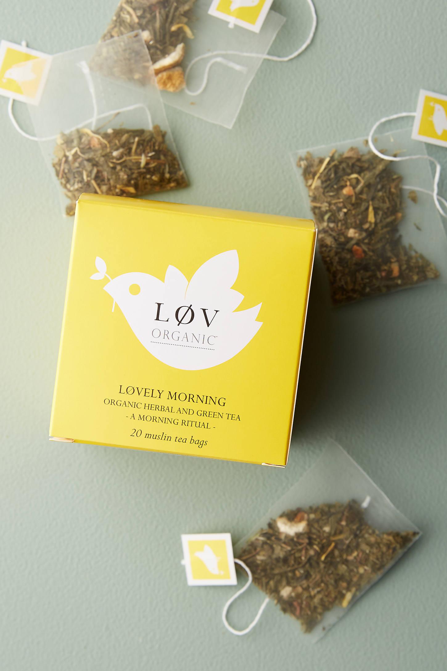 Lov Organic Tea Box