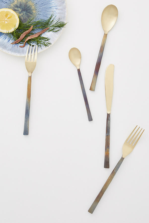 Slide View: 1: Sienna Flatware