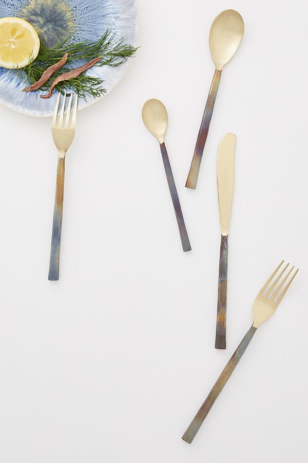 Sienna Cutlery - Gold, Size 11 1/ 9115